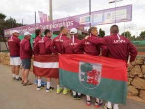 Liepaja tennis senior team has the best result till now in European championship