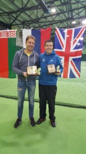 Eduards Grodskis returns from Lithuania with double victory