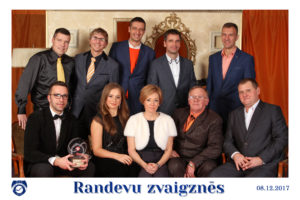 Holiday greetings from Latvian champions