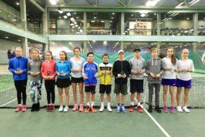 Davis Rolis takes 2nd place in Tennis Europe tournament
