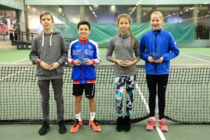 Davis Rolis takes 2nd place in Tennis Europe tournament