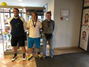 In seniors tournament – Silver medal
