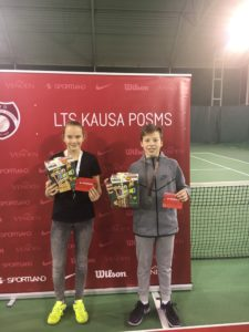In LTU cup leg – Silver and Bronze