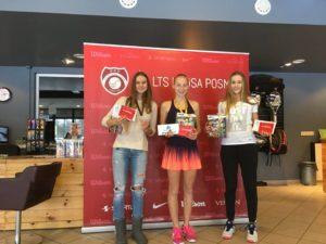 Patricija Spaka triumphs in the 1st leg of LTU cup