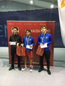 Medals in LTU cup leg
