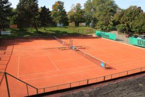 2020 season begins at tennis courts in Liepaja Jurmalas park