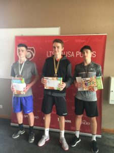 From Jelgava with gold and two silver medals