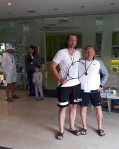 1st and 2nd place in ITF tournament