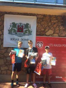 Gold in Riga championship for U18