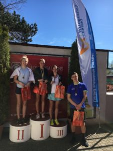 In girls competition all podium to Liepaja