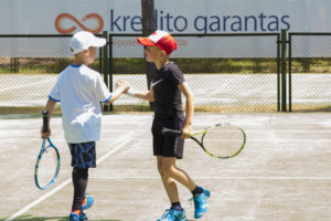 In Doubles in Palanga takes 3rd place