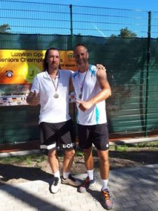 Our Andis Aigars takes 2nd place in international seniors tournament