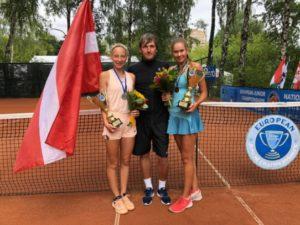 Patrīcija Špaka – European U16 vice-champion