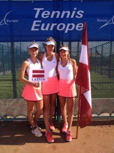 Latvijas U16 meiteņu izlase kvalificējas Eiropas vasaras kausa finālturnīram