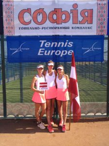 Team Latvia U16 for girls qualifies to European Summer Cups Final round