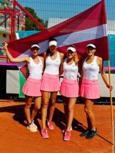 Latvian U16 girls team qualifies to Junior Fed Cup by BNP Paribas