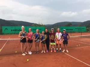 In Germany 1st place in Singles and 2nd place in Doubles