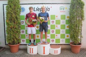 Our students takes two 2nd places at ITF tournament in Liepaja