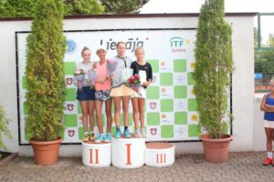 International tennis tournament in Liepaja has concluded