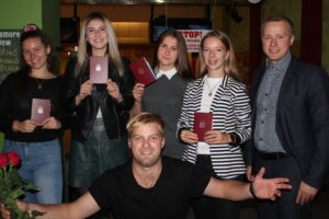 Graduation at Liepaja Tennis sport school