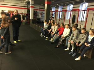 Lessons by sport psychologist from Belarus