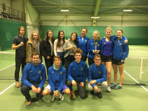 With Liepaja tennis player dominance has concluded annual Latvian club team championship