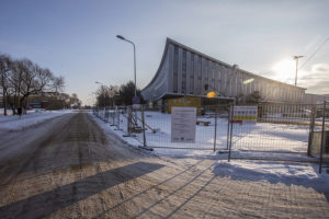 Liepāja tennis hall looks more ready every day