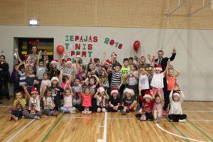 Christmas in Liepaja Tennis sport school
