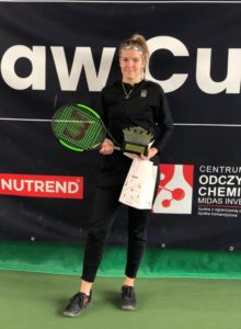 In ITF Juniors tournament in Warsaw 2nd place