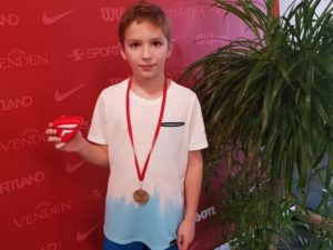 Young tennis players from Liepaja takes Gold and Bronze in Jelgava