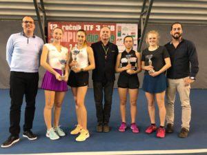 Patrīcija Špaka wins in ITF Juniors doubles tournament