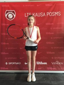 Liepaja Tennis sport school students wins some medals