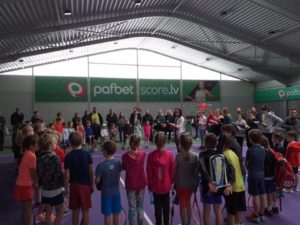 Youngest Liepaja Tennis sport school students wins Silver and Bronze
