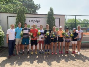 In the international tournament in Liepaja good results for locals
