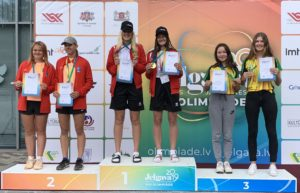 Liepaja tennis players dominates at Latvian Youth VIII Olympiad