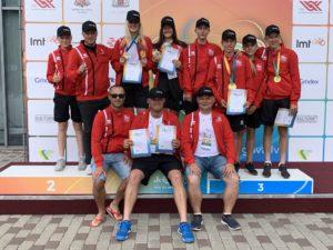 Liepaja tennis players dominates at Latvian Youth VIII Olympiad