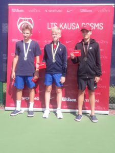 Didzis Vārna takes 3rd place in Ventspils