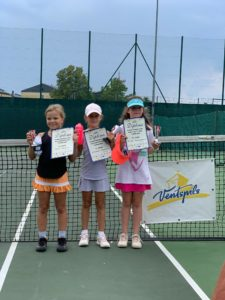 Young tennis players takes two golds and one bronze in Ventspils