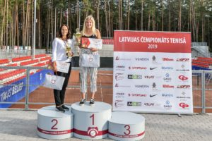 Elza Tomase from Liepāja wins the title of Latvian champion