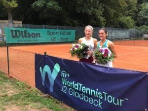 Patrīcija Špaka triumphs in Doubles in Germany