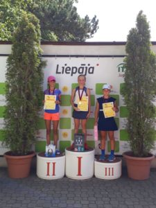 Liepaja Tennis sport school students successful at home