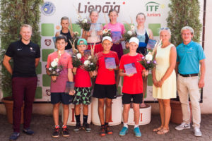 In Liepaja concluded Tennis Europe tournament for U12