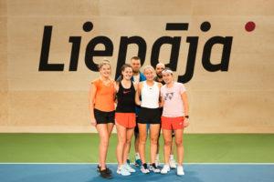 Anastasija Sevastova visits Liepājā and has an open training with autograph signing