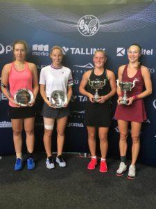 Patrīcija Špaka izcīna otro vietu ITF dubultspēļu turnīrā Pērnavā