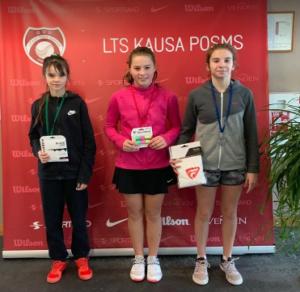 Elizabete Marta Hamitova takes 3rd place in Jelgava