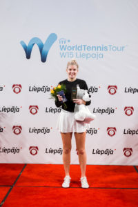 Our Elza Tomase debuts in WTA ranking