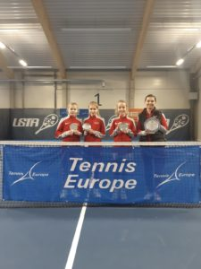 Marija Lauva from Liepaja represents team Latvia and gets into the TE Final tournament