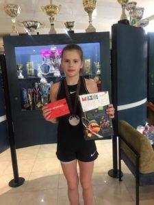 Our Marija Lauva returns from Riga with Bronze