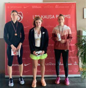 Our Paula Jankova triumphs in Jelgava