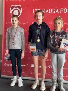 Marija Lauva returns from Jelgava with Silver